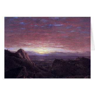 ハドソンの谷に東に見る朝 カード