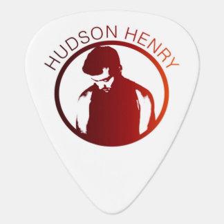 ハドソンヘンリーの習慣のギターピック ギターピック