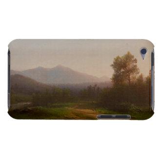 ハドソン川の景色、c.1860-5 (キャンバスの油) Case-Mate iPod touch ケース