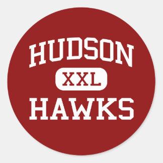 ハドソン-タカ-中学校- Sachseテキサス州 ラウンドシール
