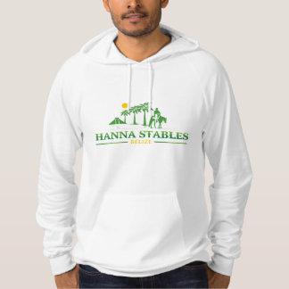 ハナの馬小屋のベリセのフード付きスウェットシャツ パーカ
