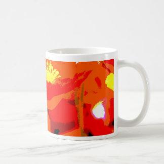 ハナビシソウ コーヒーマグカップ