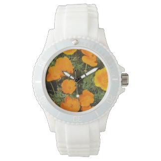 ハナビシソウ 腕時計