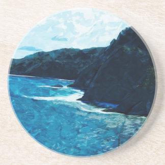 ハナマウイの抽象芸術への道の湾 コースター