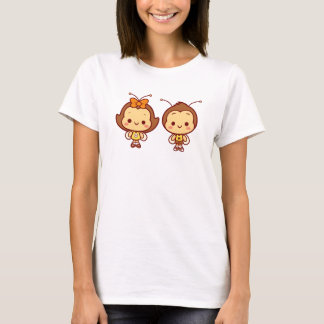 ハナ及びHachiのTシャツ Tシャツ