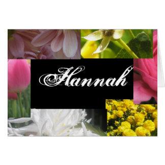 ハナ カード