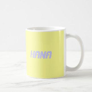 ハナ コーヒーマグカップ