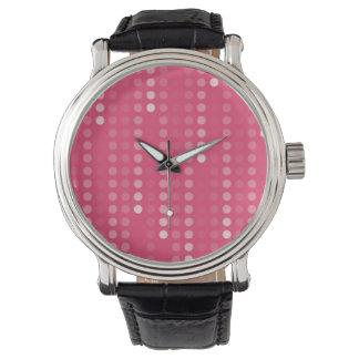 ハニーサックルの背景 腕時計