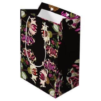 ハニーサックルの花の花の庭のギフトバッグ ミディアムペーパーバッグ