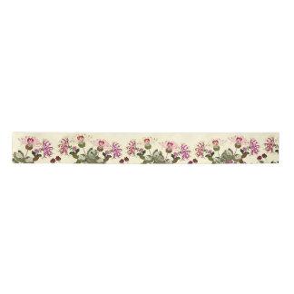 ハニーサックルの花の花園のリボン サテンリボン