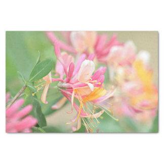 ハニーサックルの花 薄葉紙