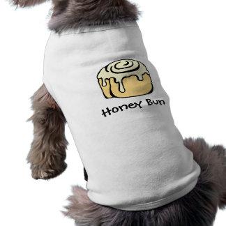 ハニーバンのシナモンロールのかわいい漫画のデザイン ペット服