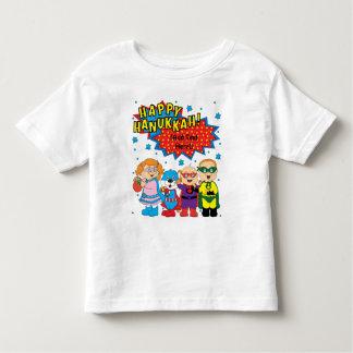 ハヌカーの幼児のTシャツ トドラーTシャツ