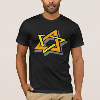 ハヌカーの星メンズTシャツ Tシャツ
