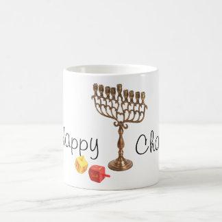 ハヌカー(ユダヤ教の祭り)のマグ コーヒーマグカップ