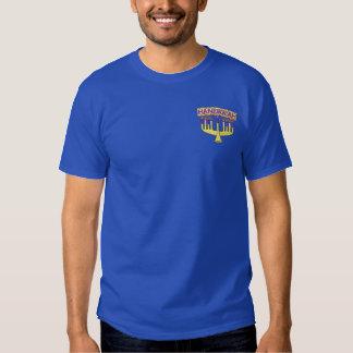 ハヌカー 刺繍入りTシャツ