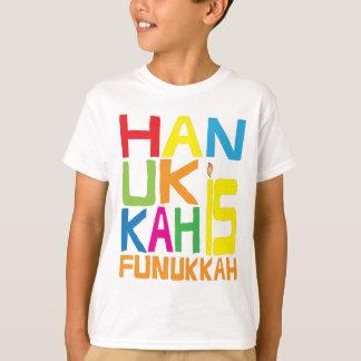 """""""ハヌカーFunukkah""""の子供のTシャツです Tシャツ"""