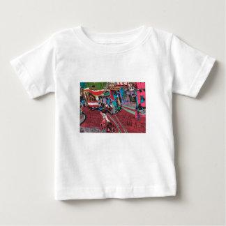 ハノイの通り車 ベビーTシャツ