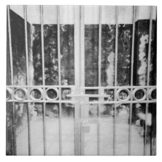 ハノイベトナム、ハノイHiltonの刑務所の独房の詳細 タイル