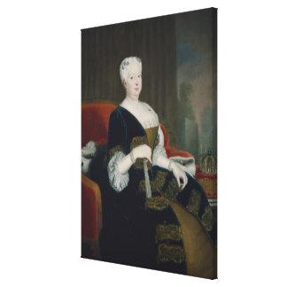 ハノーバーのSophia Dorothea女王 キャンバスプリント