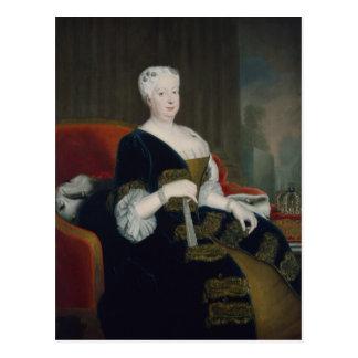 ハノーバーのSophia Dorothea女王 ポストカード
