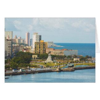 ハバナの水辺地帯、キューバ カード