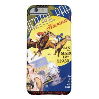 ハバナの競馬のヴィンテージ旅行ポスター BARELY THERE iPhone 6 ケース