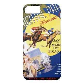 ハバナの競馬のヴィンテージ旅行ポスター iPhone 8/7ケース