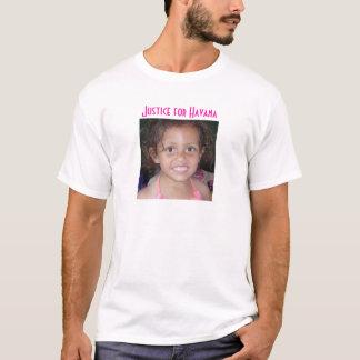 ハバナのTシャツのための正義 Tシャツ