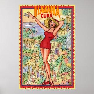 ハバナキューバ ポスター