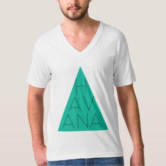 ハバナバンドV首 Tシャツ
