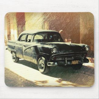 ハバナ、キューバののアメリカ車マウスパッド マウスパッド