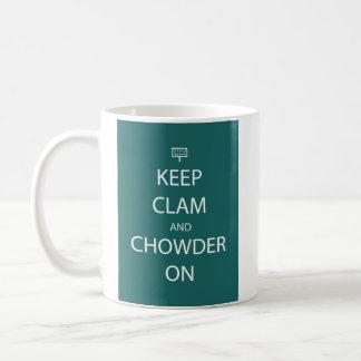 ハマグリのマグを保って下さい コーヒーマグカップ