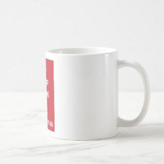 ハマグリを飼い、ベジタリアン行って下さい コーヒーマグカップ