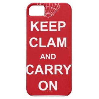 ハマグリを飼い、続けていって下さい iPhone SE/5/5s ケース