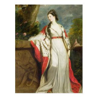 ハミルトンのエリザベスの射撃、公爵夫人および公爵夫人 ポストカード
