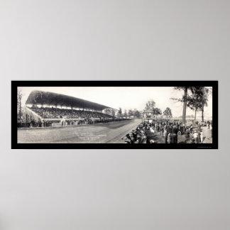 ハミルトンオハイオ州特別観覧席の写真1913年 ポスター