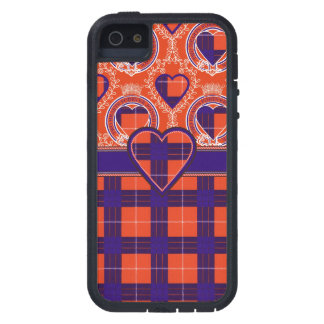 ハミルトンスコットランドの一族のタータンチェック-格子縞 iPhone SE/5/5s ケース