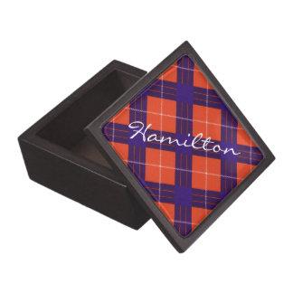 ハミルトンスコットランド人の格子縞 ギフトボックス