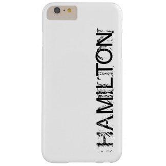 ハミルトンタイトルの電話箱 BARELY THERE iPhone 6 PLUS ケース