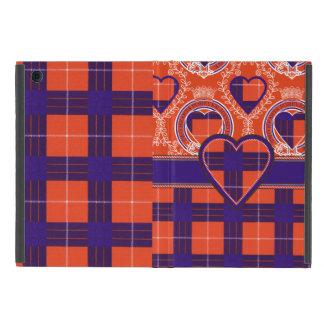 ハミルトン一族の格子縞のスコットランド人のタータンチェック iPad MINI ケース