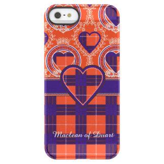 ハミルトン一族の格子縞のスコットランド人のタータンチェック PERMAFROST iPhone SE/5/5sケース