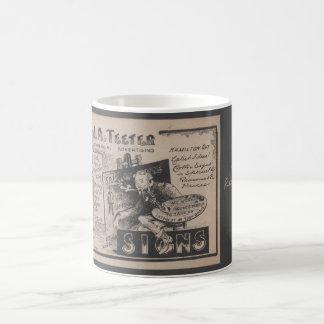 ハミルトン印ペインターのマグ コーヒーマグカップ