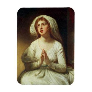ハミルトン女性祈ること マグネット