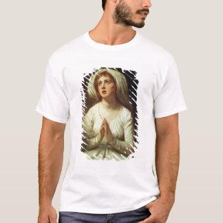 ハミルトン女性祈ること Tシャツ