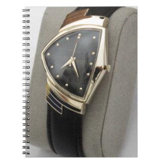 ハミルトン電気ベントゥーラ腕時計c.1957 ノートブック