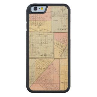 ハミルトン、カーセッジ、Bushnell、リンカーンおよびLaHarpe CarvedメープルiPhone 6バンパーケース