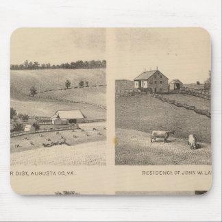 ハミルトン、ランデスのYatesの住宅、蹄鉄の農場 マウスパッド