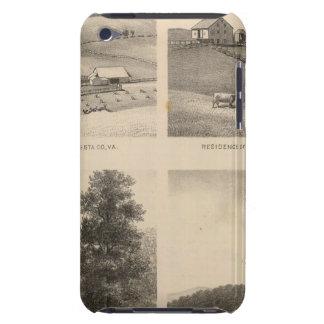 ハミルトン、ランデスのYatesの住宅、蹄鉄の農場 Case-Mate iPod Touch ケース