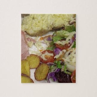 ハムのサラダおよび着服 ジグソーパズル